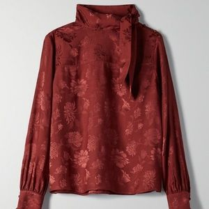 Wilfred NWT Cecile blouse in Rustique